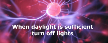 When daylight is sufficient turn off lights automation