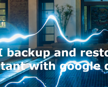 How do I backup and restore home assistant